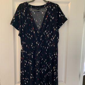 Torrid wrap style dress